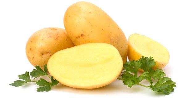 спелый картофель