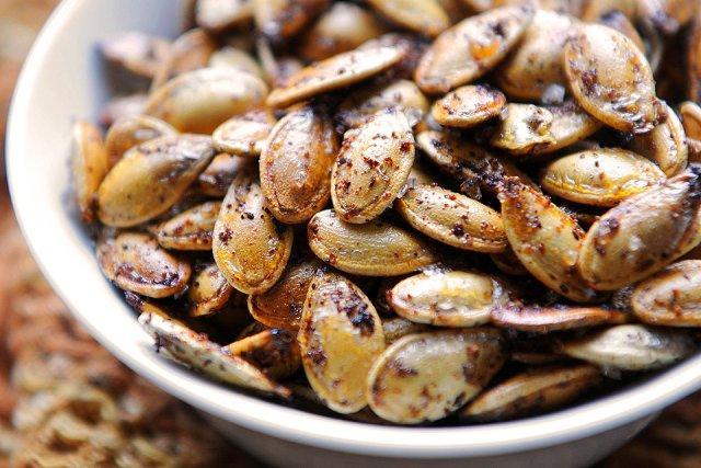 арбузные семечки жареные