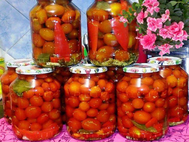 помидоры закрытие с аспирином