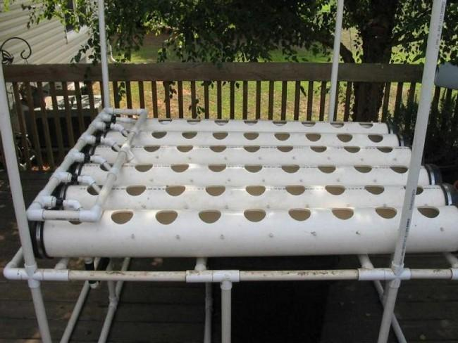пластиковые трубы для клубники