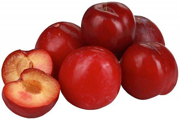красный шар слива