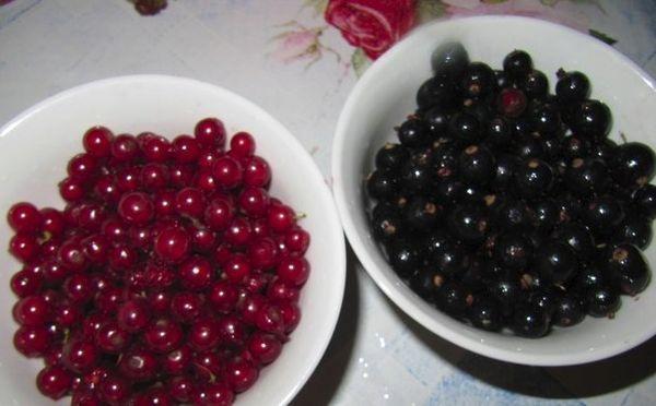 миски с ягодами