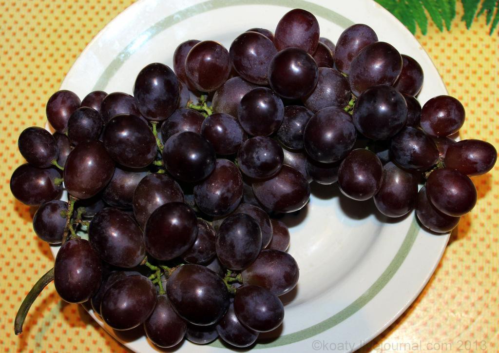 виноград к столу
