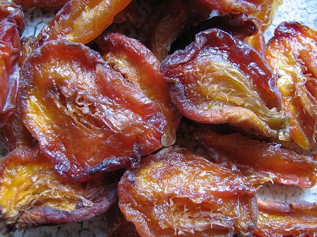 сушка персика