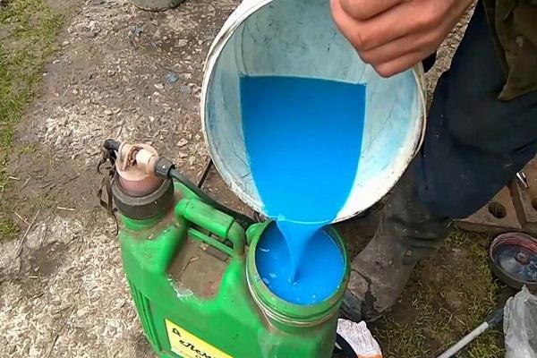 развести жидкость