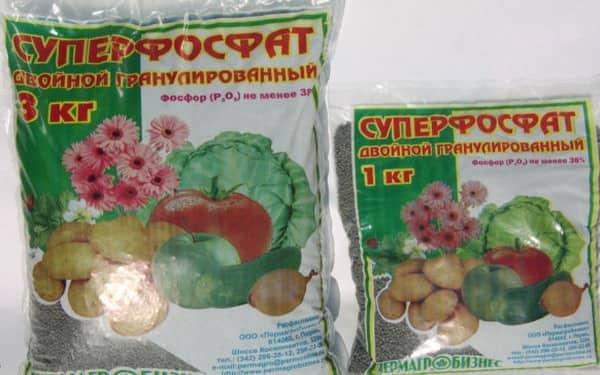фосфор для винограда