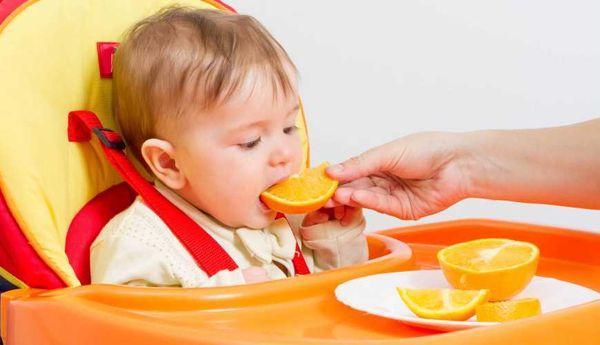 апельсин для детей