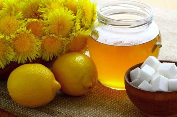 Лимон с медом или сахаром