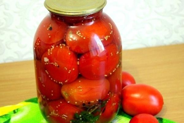 Засолка помидор на зиму рецепты сладкие