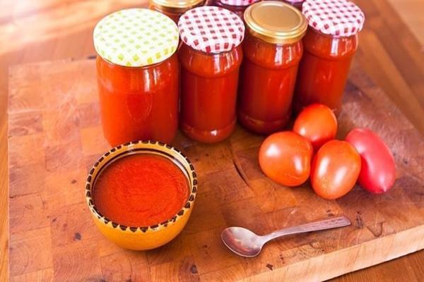 Сладкий соус из помидор на зиму