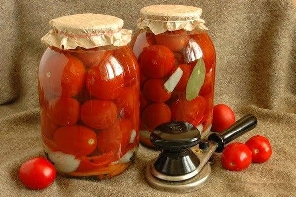 соленые помидоры в банках холодным способом без уксуса