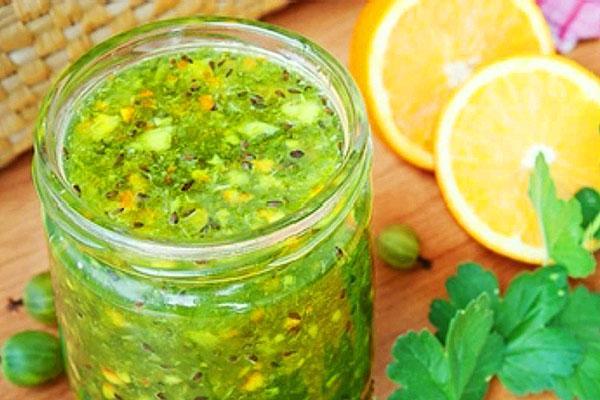 Вариант с апельсином и лимоном