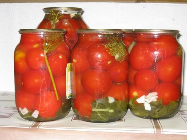 Солим томаты сухим холодным способом