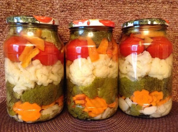 Рецепт с цветной капустой и морковью