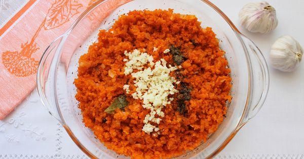 морковь с чесноком