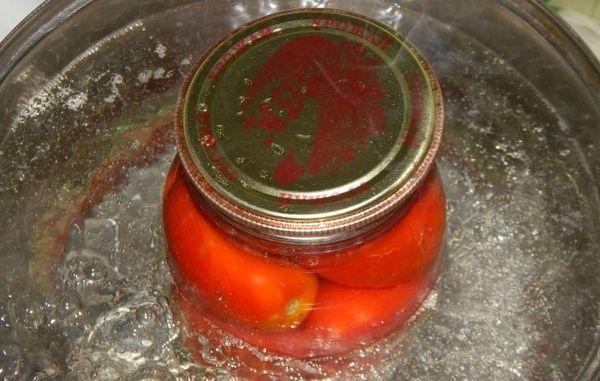 стерилизация томатов