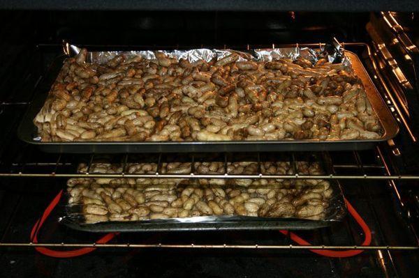 орехи в духовке