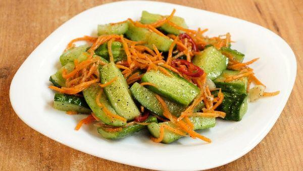 По-корейски с морковью