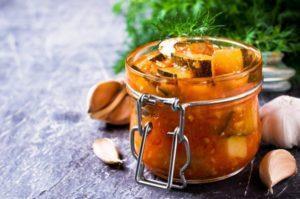 ТОП 13 вкусных рецептов приготовления острых кабачков на зиму
