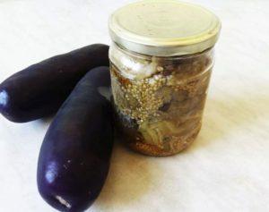 10 лучших рецептов приготовления на зиму печеных баклажан
