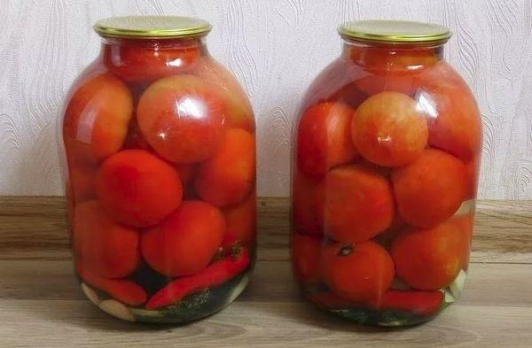 Хрустящие помидоры