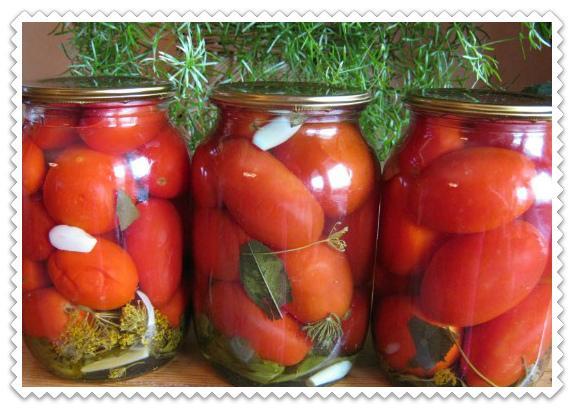 Ароматные чесночные помидорчики «Пальчики оближешь»