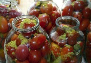 18 лучших рецептов приготовления помидоров с горчицей на зиму