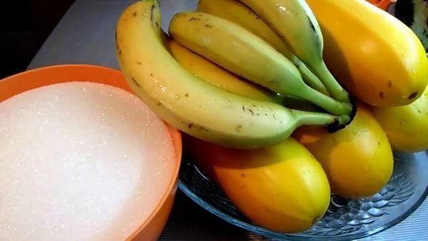кабачки и бананы