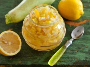 14 вкусных рецептов приготовления варенья из кабачков с добавлением лимона на зиму