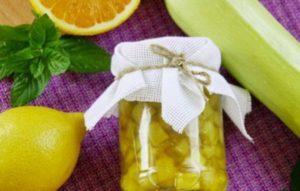 10 лучших рецептов приготовления варенья из кабачков с лимоном и апельсином