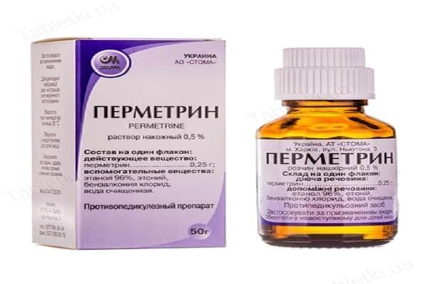 вещество пермитрин