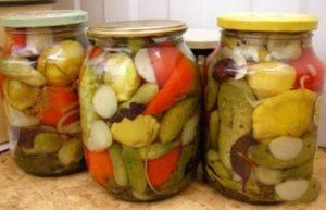9 вкусных рецептов приготовления маринованных патиссонов с огурцами на зиму