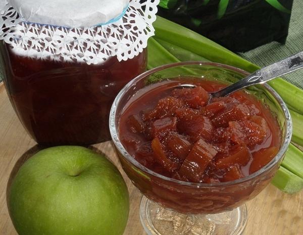 Готовим варенье с яблоками