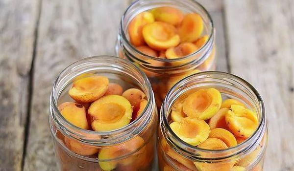абрикосы без варки