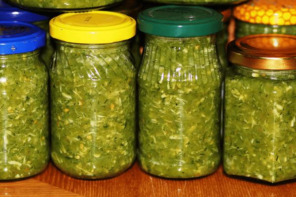 аджика Объедение из зеленых помидор