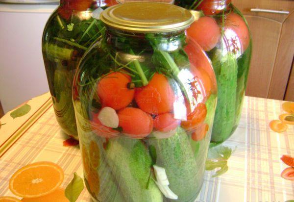 консервация овощей