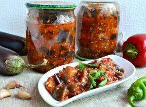 14 простых рецептов приготовления на зиму баклажанов Огонек