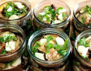 11 лучших рецептов приготовления на зиму жареных баклажанов с чесноком