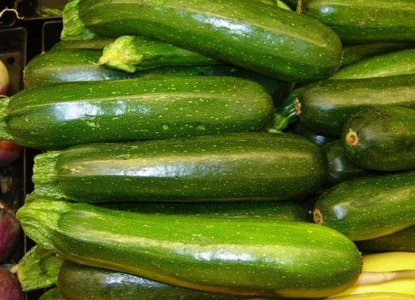 зеленые цуккини