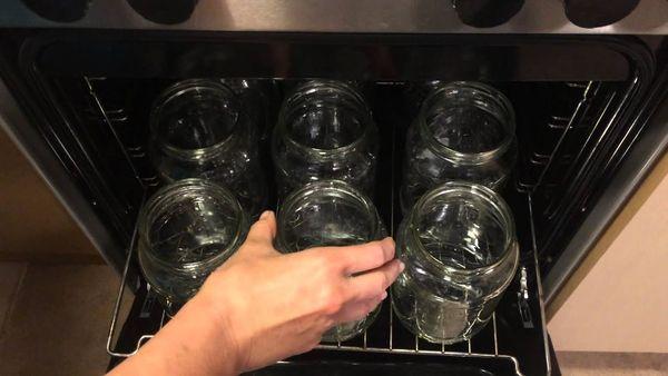 стерилизация в духовке