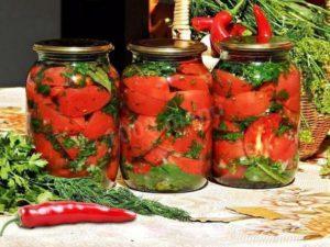 15 лучших рецептов приготовления острых помидоров на зиму