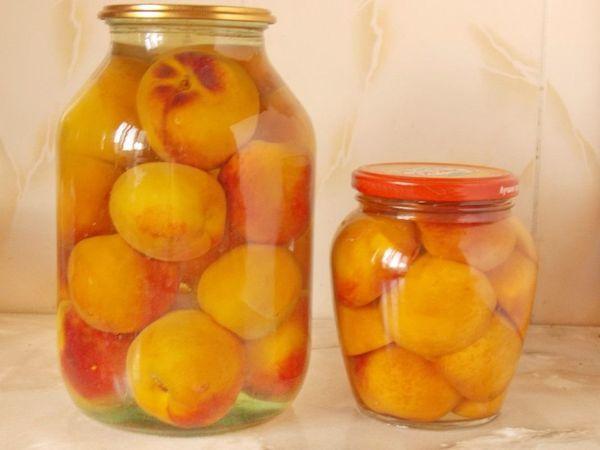 персик на зиму