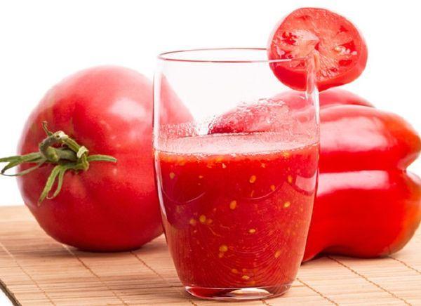 томат с перцем