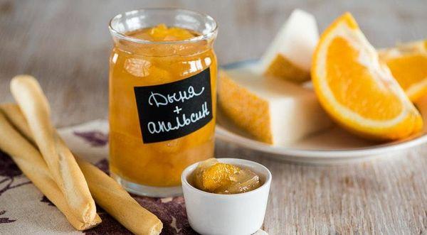 апельсины и дыня