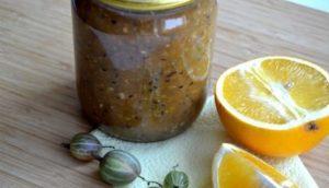 11 лучших рецептов варенья из крыжовника с апельсином и лимоном на зиму