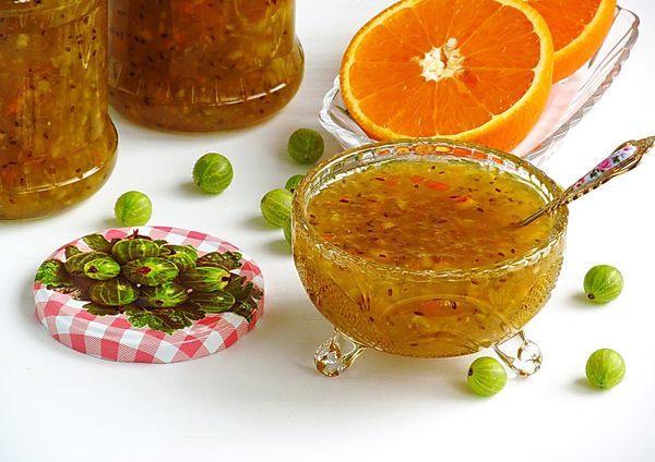 Варенье с апельсиновыми корками