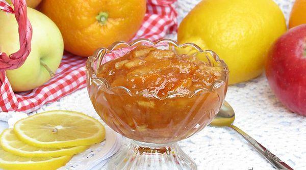 Фруктово-цитрусовый с яблоками