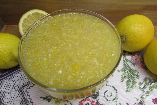 лимон без варки