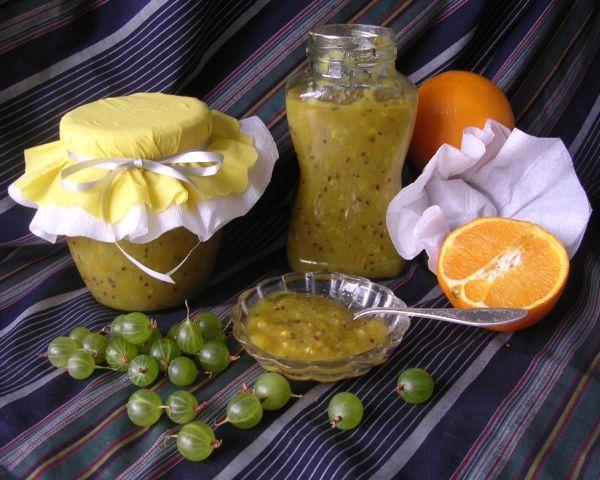 апельсин и крыжовник