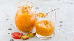 11 лучших рецептов приготовления варенья из ревеня с апельсином на зиму